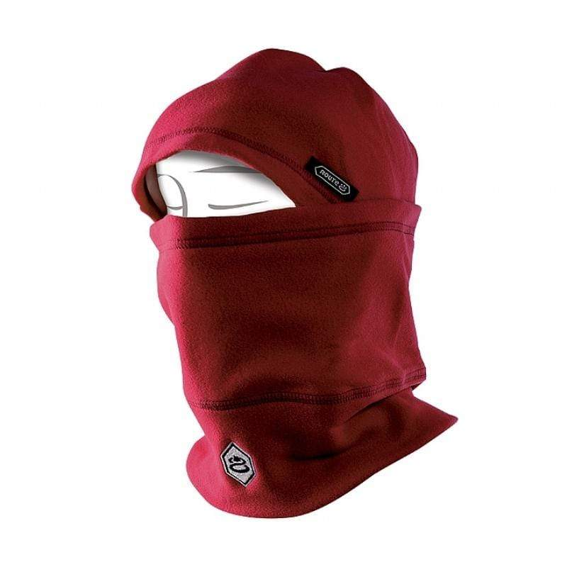 Route8 POLAR HAT 兒童多功能刷毛保暖帽 (紫檀紅) 紫檀紅