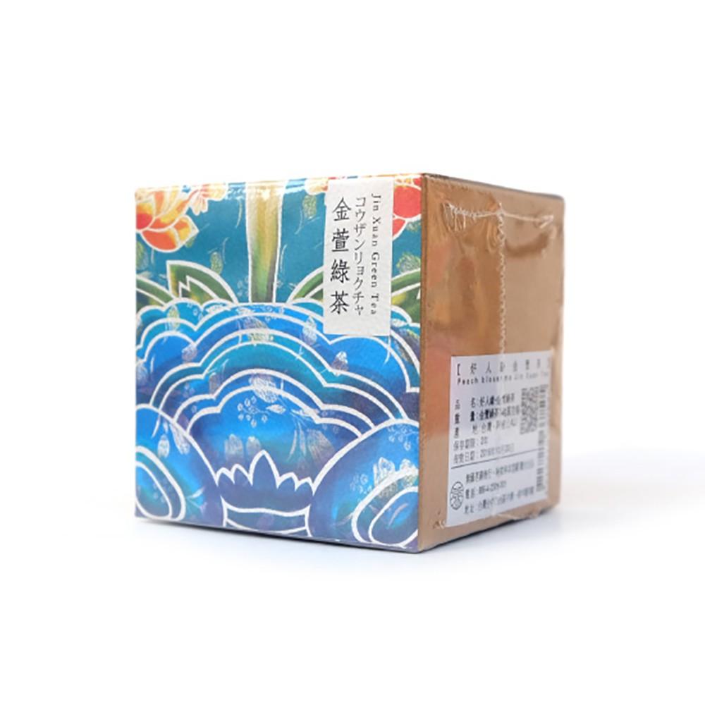 【無藏茗茶】X【霧峰林宅】聯名開發茶葉禮盒_好人緣金萱茶_金萱綠茶_18g茶葉鐵罐裝
