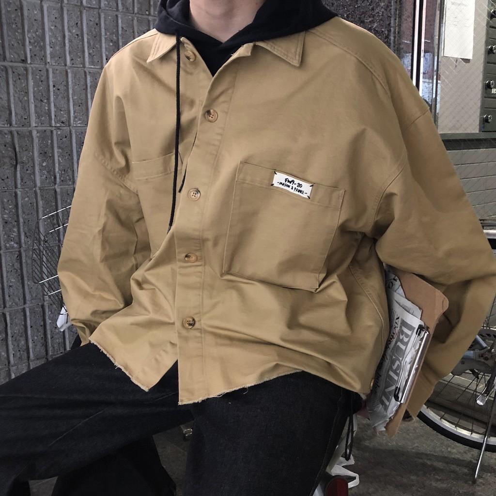 【FADE.MEET】雙袋外套