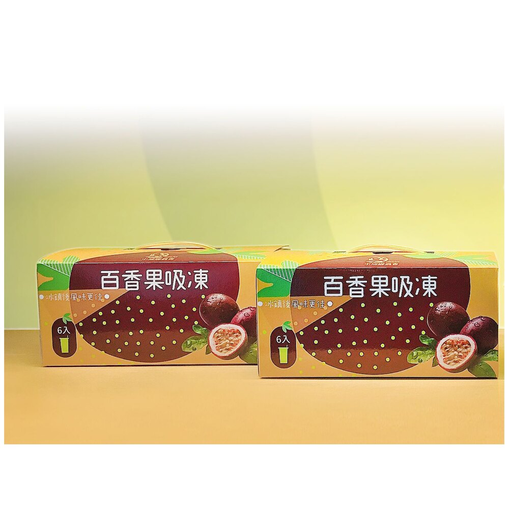 【中埔農會】百香果吸凍手提禮盒-220g-瓶 6瓶-盒(2禮盒)