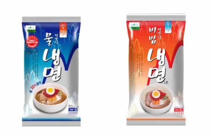 韓國 平壤水冷面 涼麵 水涼麵/辣涼麵 750G