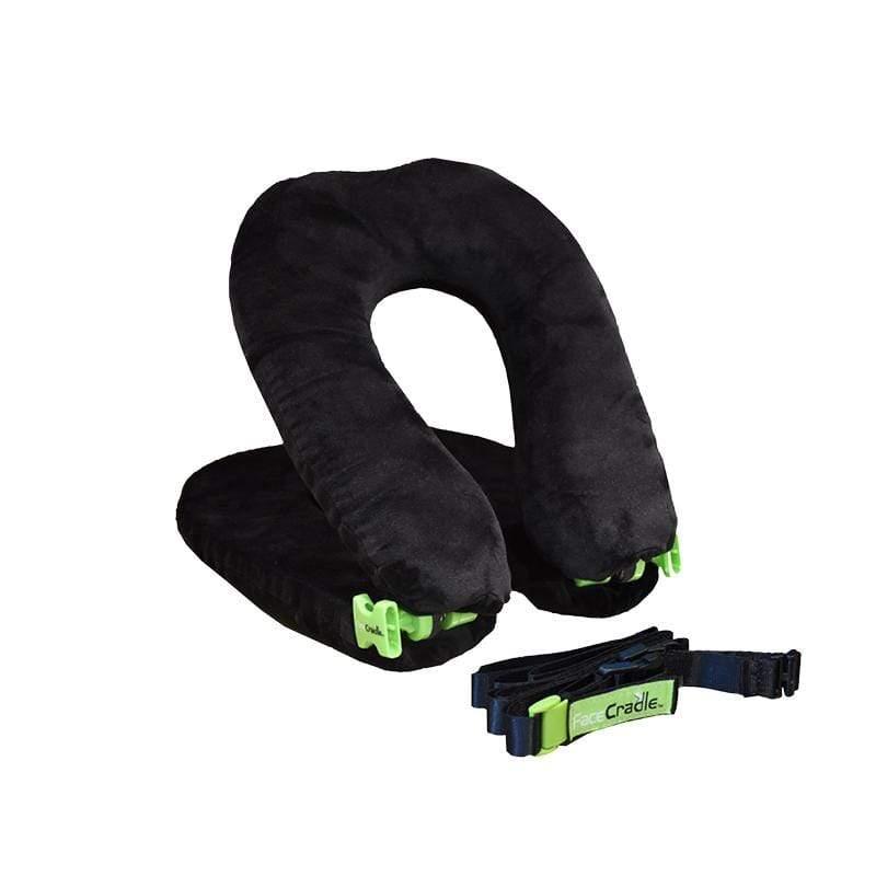 多功能旅行枕 / 午睡枕 / 護頸枕 / U型枕 (輕巧款) - 2入組 黑色x2