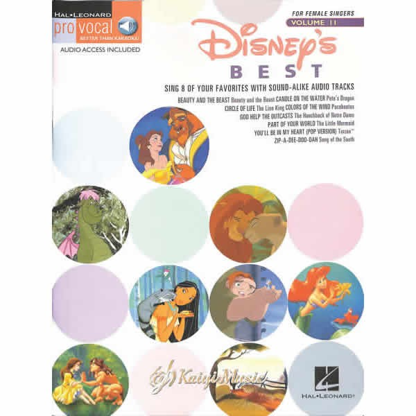 【Kaiyi music】Disney's Best formale Singers Volume II