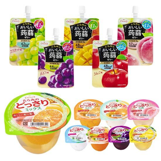 日本 Tarami 達樂美 果凍飲便利包 鮮果肉果凍 零卡果凍杯 果凍杯 果凍飲 果凍