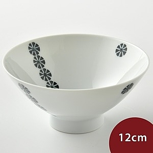 Hakusan 白山陶 PIZZICATO 餐碗 幾何花卉 12cm