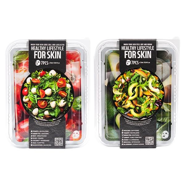 FARM SKIN 沙拉蔬果面膜(盒裝7片入)【小三美日】D482006