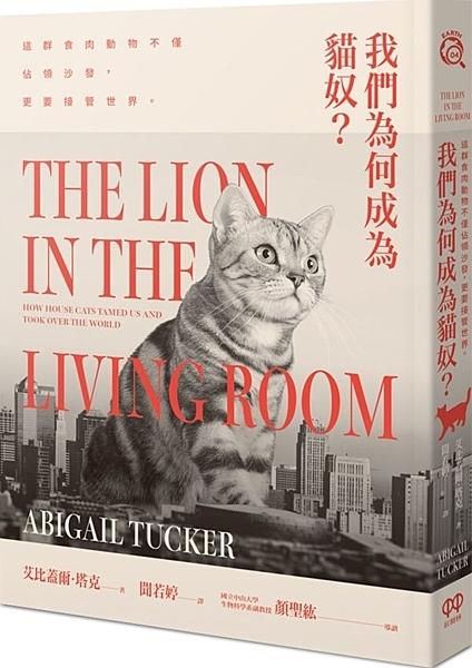 我們為何成為貓奴?這群食肉動物不僅佔領沙發,更要接管世界【城邦讀書花園】