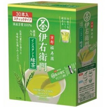 伊右衛門 抹茶入りインスタント緑茶スティック 宇治の露製茶