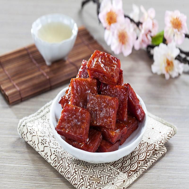 【黃金香肉乾】特厚原味金磚肉干 220g