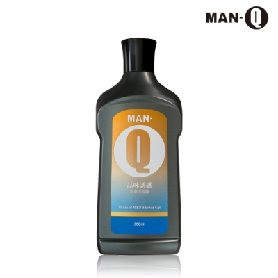 MAN-Q 品味誘惑男香沐浴露(350ml)