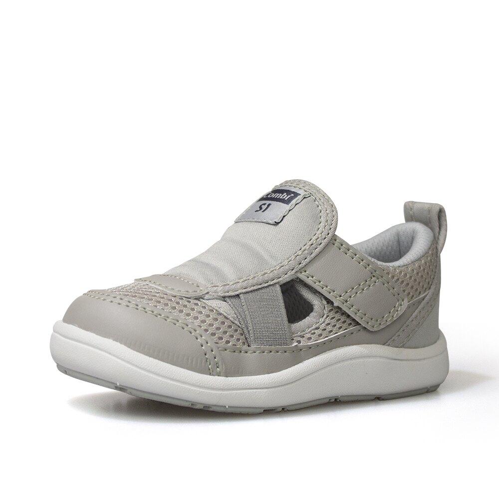 日本康貝Combi機能休閒童鞋-CORE-S兒童成長機能鞋-C01GL灰(中小童段)