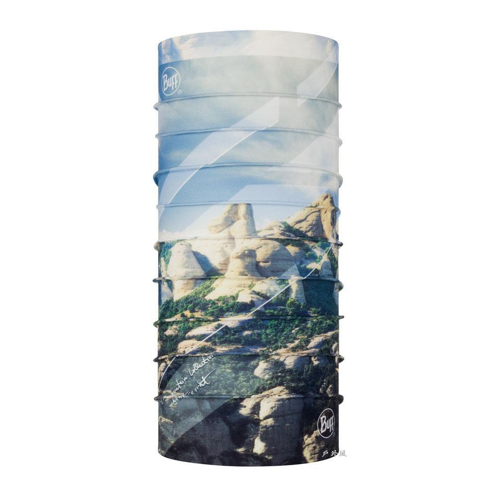 西班牙Buff頭巾 Coolnet抗UV頭巾-山岳系列-西班牙蒙賽拉特山