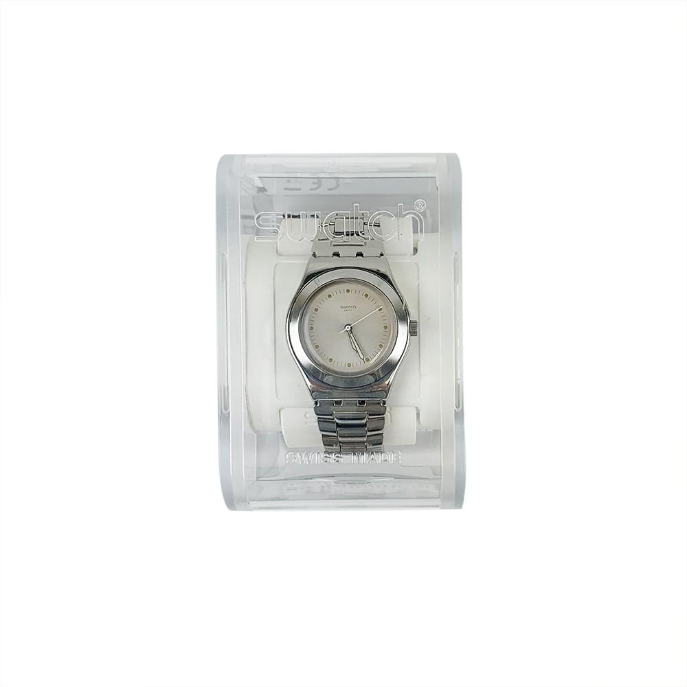 Swatch PUNTAGIALLA 夜光 腕錶 手錶 YLS197G