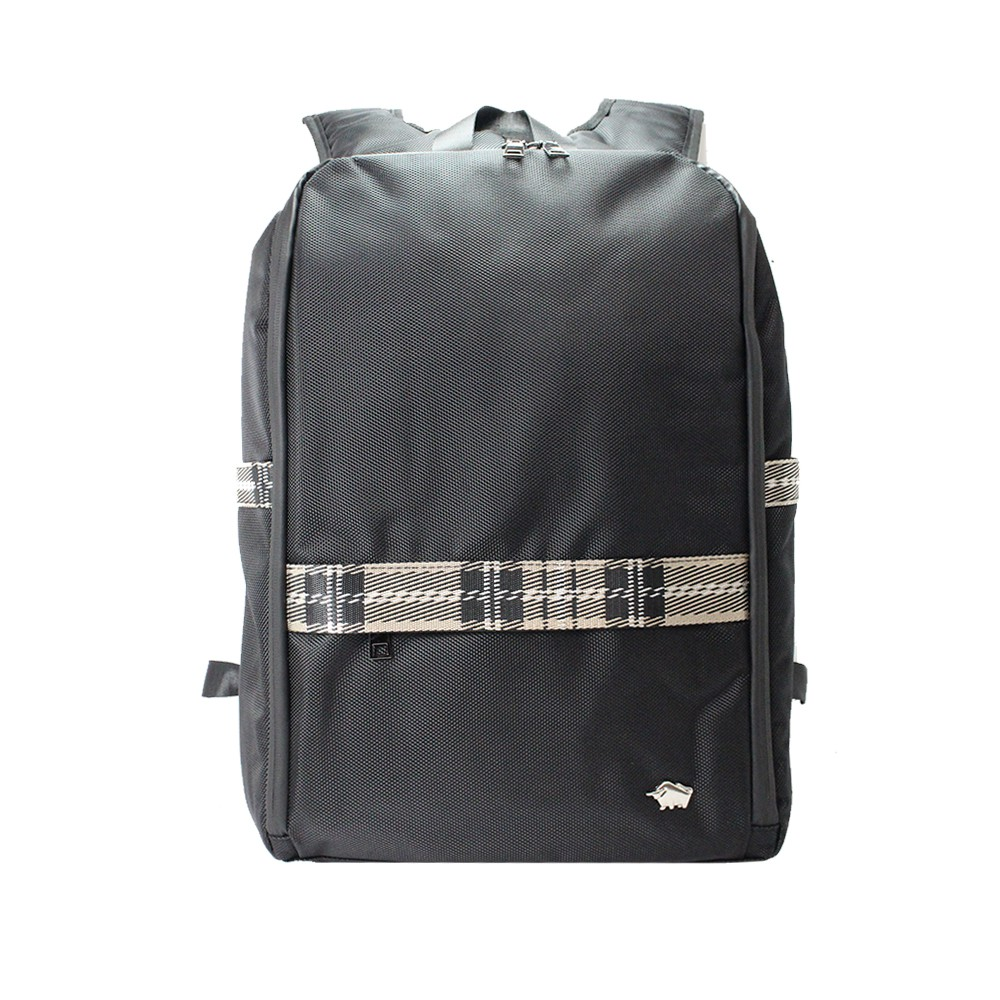 DRAKA 達卡 - 紳士同盟系列-筆電/iPad後背包-白黑