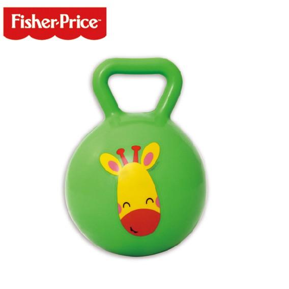 【Fisher-Price費雪】4吋搖鈴球-綠 (F0517G)