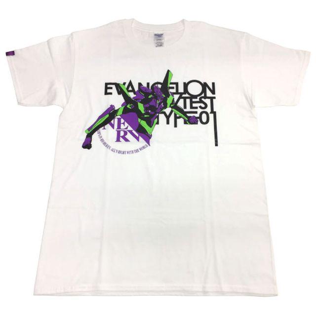 EVANGELION STORE 公式 EVA珍藏T恤/機體插圖・初號機/白