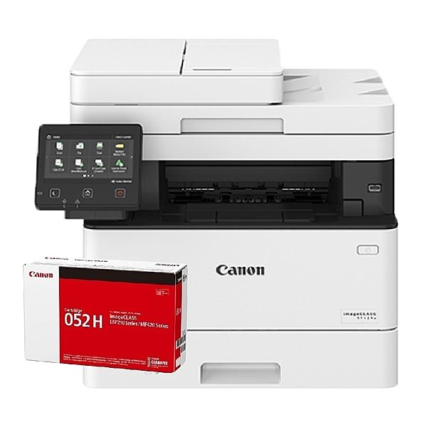 【搭CRG052H原廠碳粉匣一支】Canon imageCLASS MF429X 高速黑白雷射傳真事務機 全新機