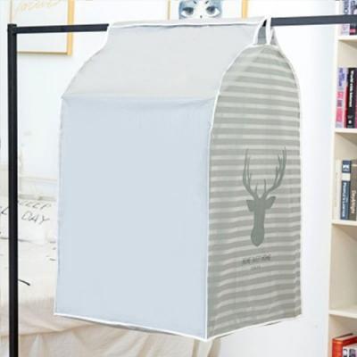 【你會買】加大版立體衣物收納防水防塵罩 2入