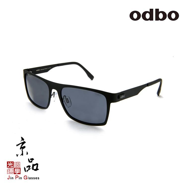 【odbo】S5175 C1 霧黑色 鈦金屬 大方框 輕量化設計 太陽眼鏡 JPG 京品眼鏡