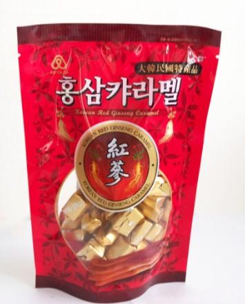 韓國 紅蔘軟糖 紅蔘焦糖軟糖 紅蔘 軟糖 (焦糖口味) 180G