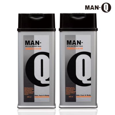 MAN-Q S2柑橘薄荷全效潔淨露x2入(350ml)