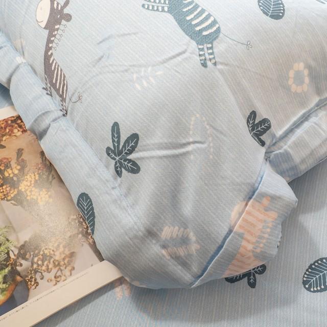 100%天絲 鋪棉床包兩用被組合 木馬斑斑【棉床本舖】