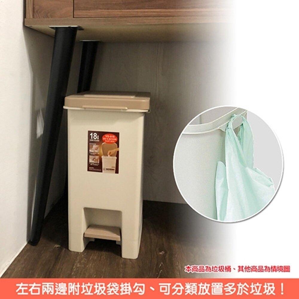 杜克腳踏式垃圾桶(10L+18L)2入組【母親節推薦】
