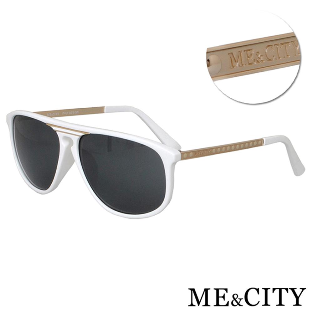 ME&CITY 韓版飛行員款太陽眼鏡 抗UV400(ME1100-W01)