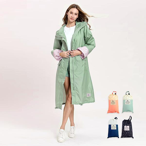 【RainSKY】長版布勞森-雨衣/風衣 大衣 長版雨衣 連身雨衣 輕便型雨衣 超輕質雨衣 日韓雨衣+2