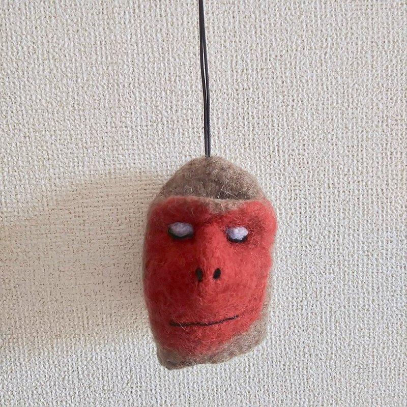 日本獼猴鑰匙包