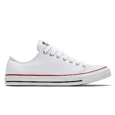 CONVERSE ALL STAR 低筒 帆布鞋 休閒鞋 男女 白色 M7652C