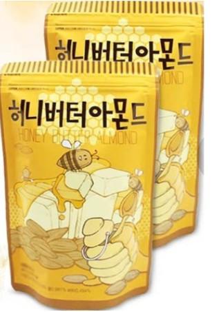 韓國 Toms Gilim 蜂蜜奶油杏仁果 (210g) 奶油杏仁果 杏仁果 蜂蜜杏仁果