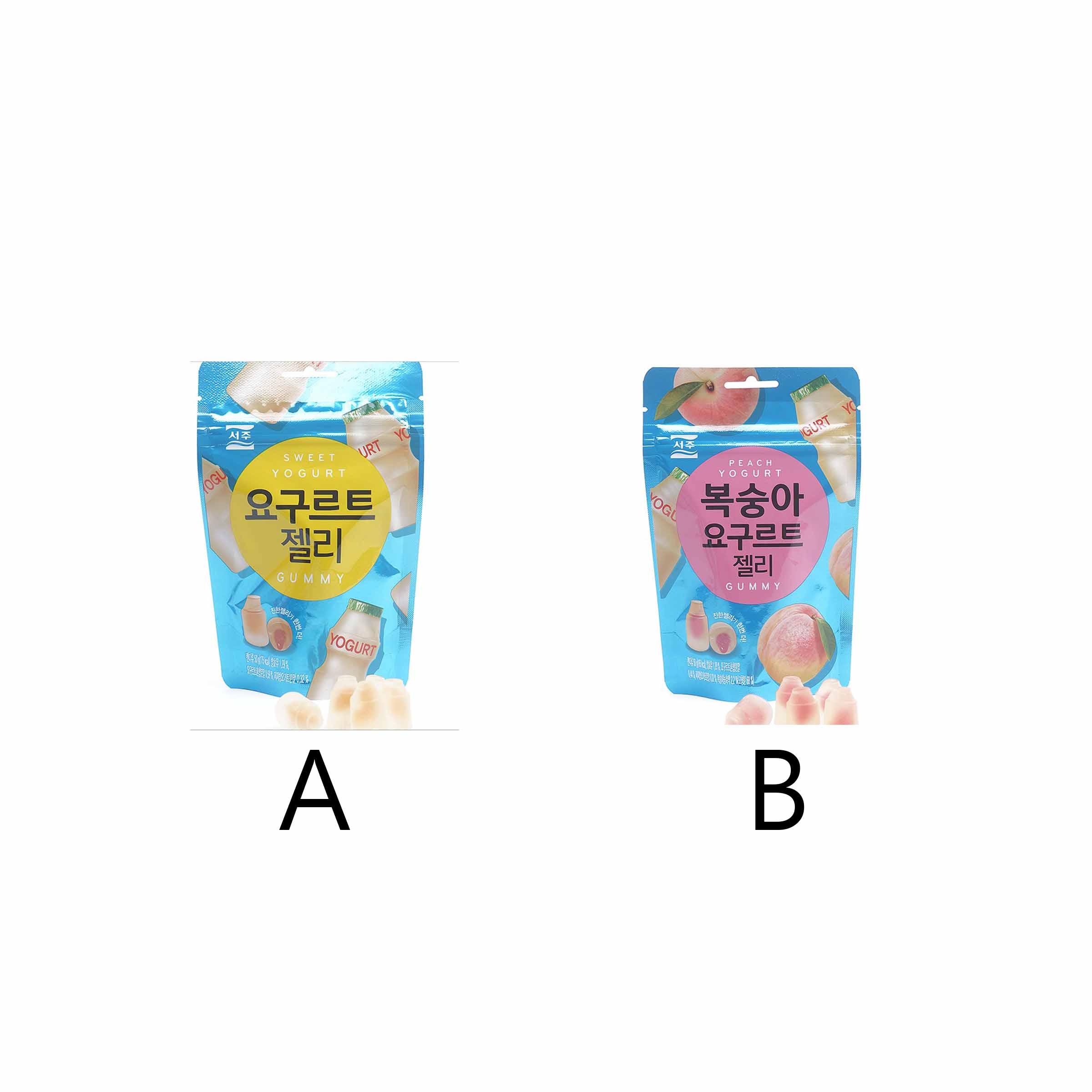 韓國 優格軟糖 原味 優格軟糖 A 50G
