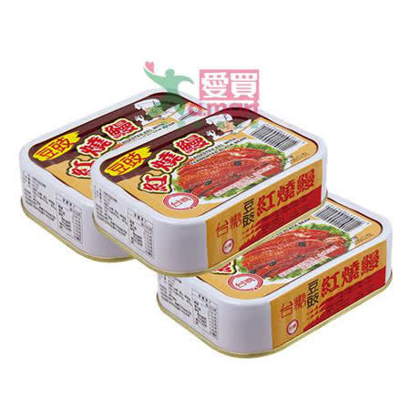 台糖 豆豉紅燒鰻x3組 (100gx3罐)