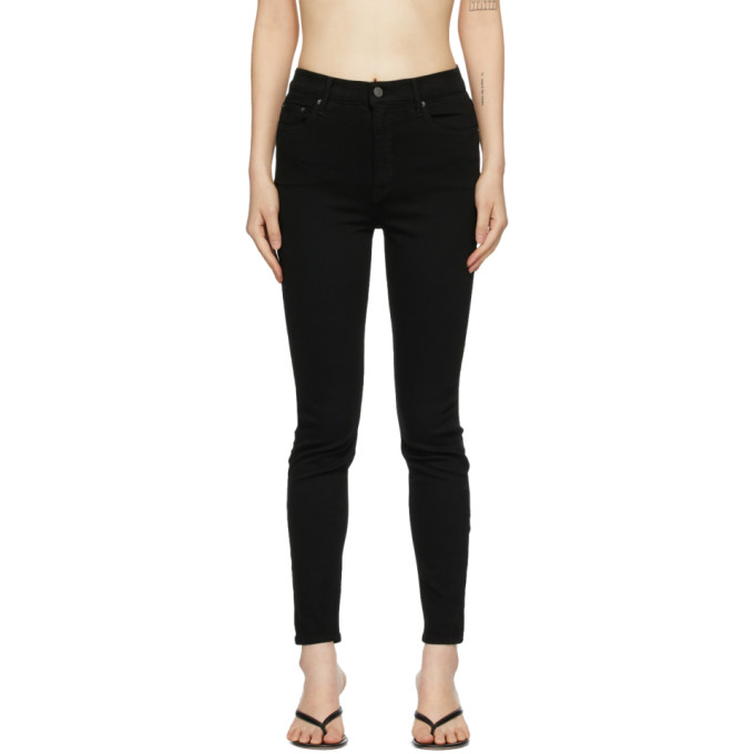 Grlfrnd 黑色 Kendall 牛仔裤
