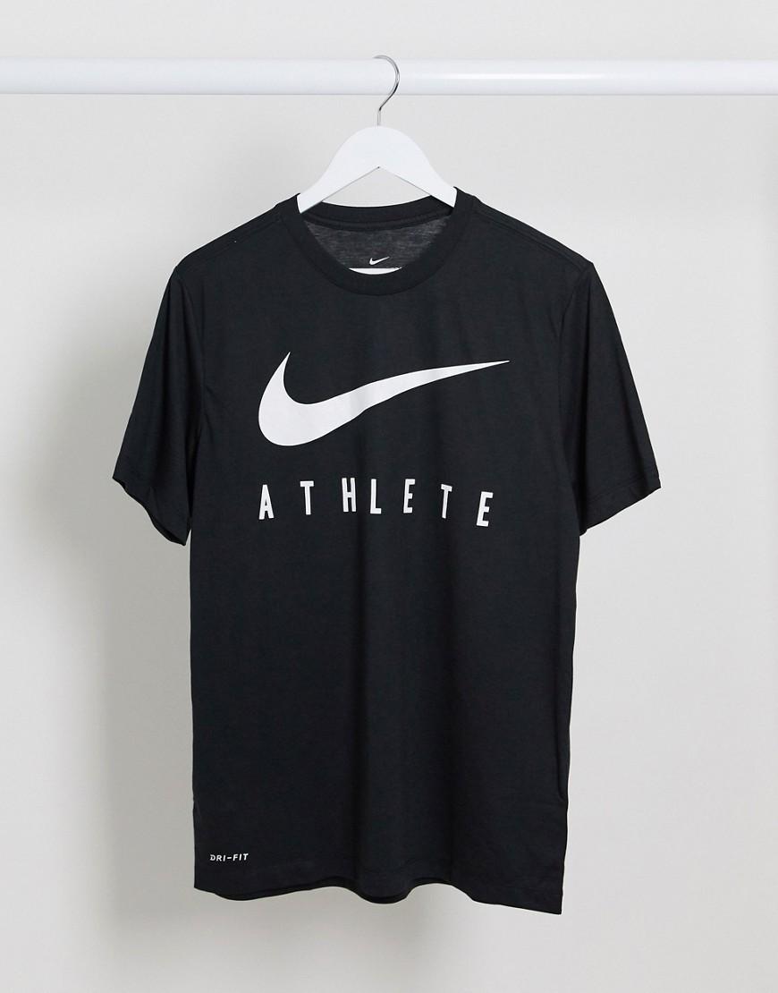 Nike Training Dri-FIT athlete t-shirt in black