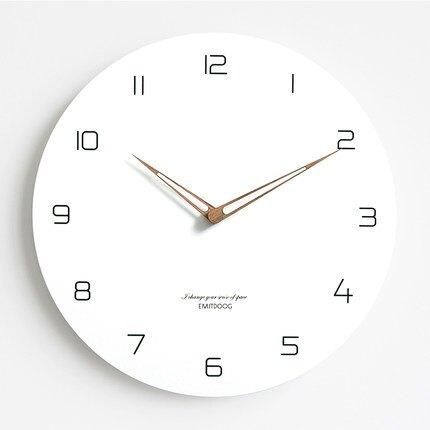 壁鐘 現代簡約客廳家用掛鐘時尚大氣靜音壁鐘石英鐘表北歐時鐘『SS2780』
