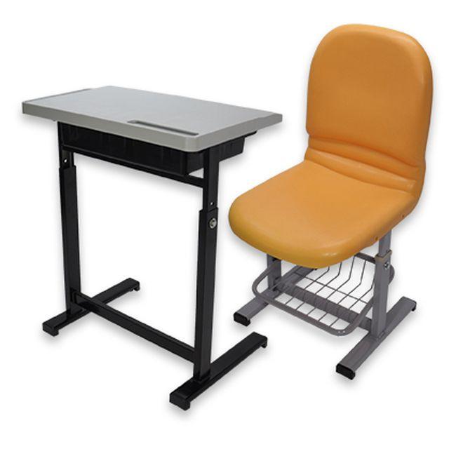 【US04-06】升降式課桌椅(整組) #101E-1