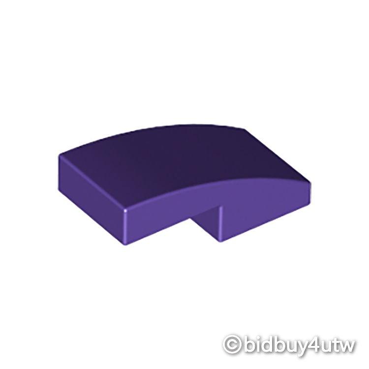 LEGO零件 弧形磚 2x1 11477 深紫色 6057390【必買站】樂高零件