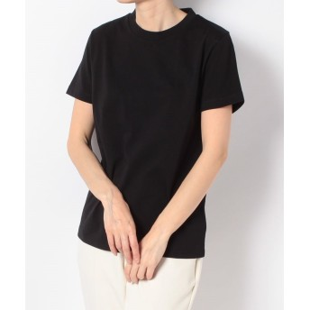 (en recre/アン レクレ)【ORIVAR SAT】半袖Tシャツ/レディース ブラック