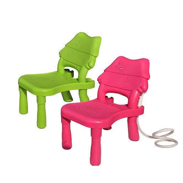 親親 ChingChing 好娃椅綠/粉色