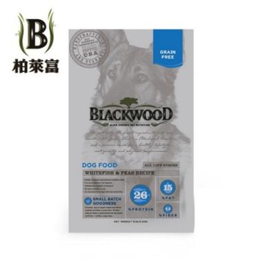 美國BLACKWOOD柏萊富-天然寵糧極鮮無穀全齡低敏呵護配方(白鮭魚+豌豆) 5磅/2.2kg 兩包組