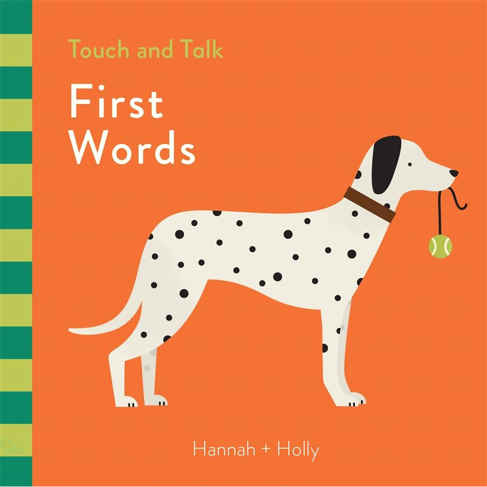 Touch and Talk:First Words【禮筑外文書店】(硬頁書)[79折]