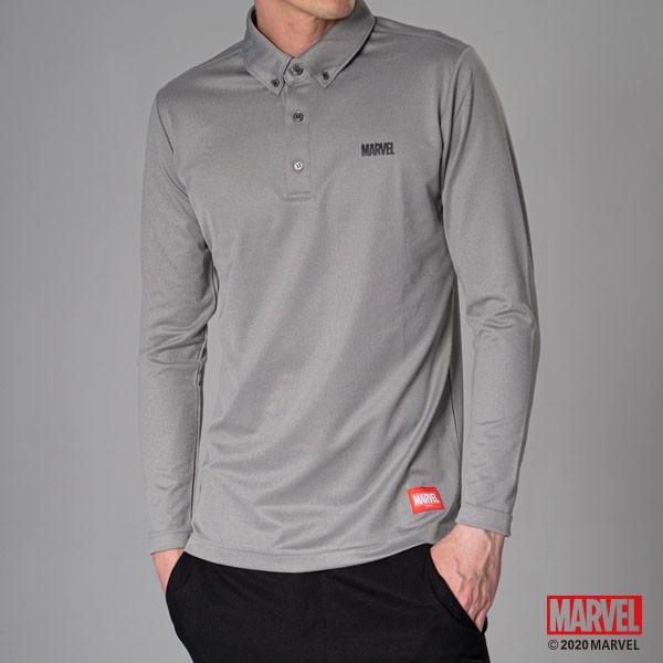 MARVEL漫威 基本長袖襯衫 POLO衫 商務機能上衣 商務襯衫 吸濕排汗材質 [M19121007]