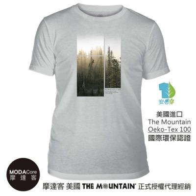 摩達客-美國The Mountain都會系列 深山之林 中性修身短袖T恤