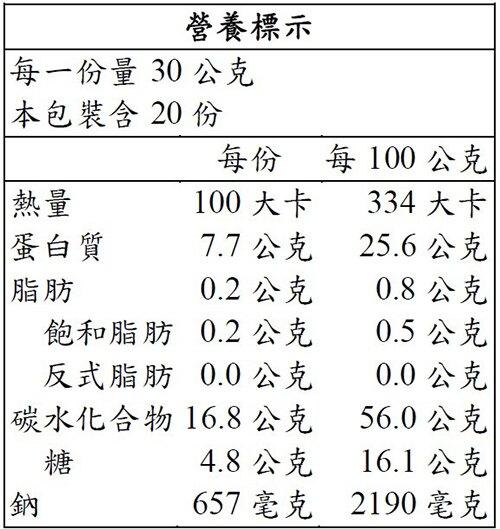 【 現貨 】北海鱈魚香絲 600 公克