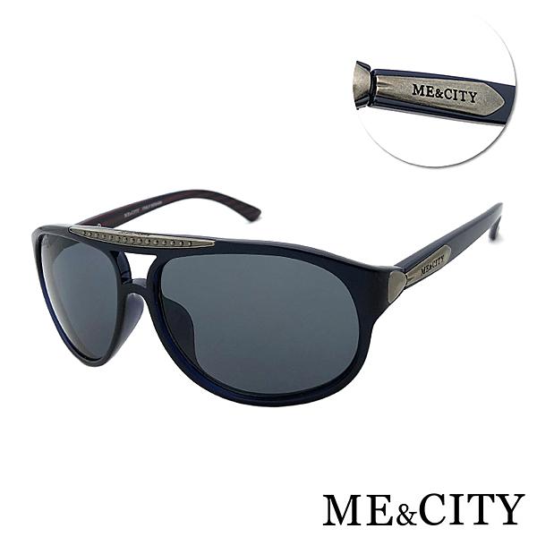 ME&CITY 尊爵飛行品味太陽眼鏡 義大利設計款 抗UV400 (ME 110016 F151)