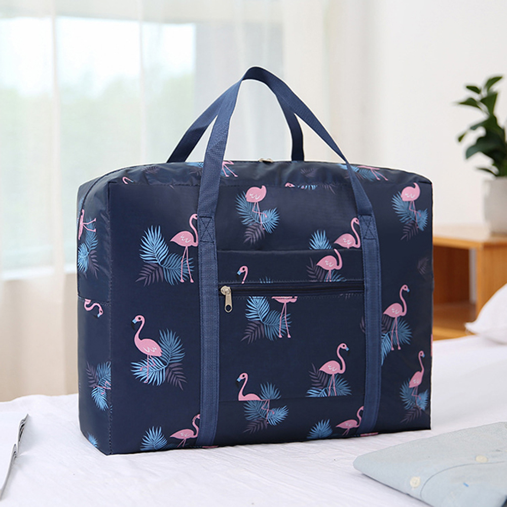 【iSFun】旅行專用*大容量摺疊手提行李箱杆包/2色可選