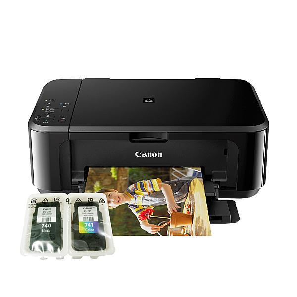 【搭原廠墨水匣 祼 一黑一彩】Canon PIXMA MG3670 無線多功能相片複合機 登錄送禮卷