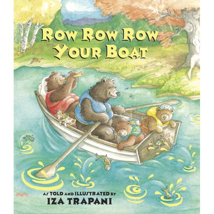 Row Row Row Your Boat (平裝本) 廖彩杏老師推薦有聲書第40週【三民網路書店】[79折]